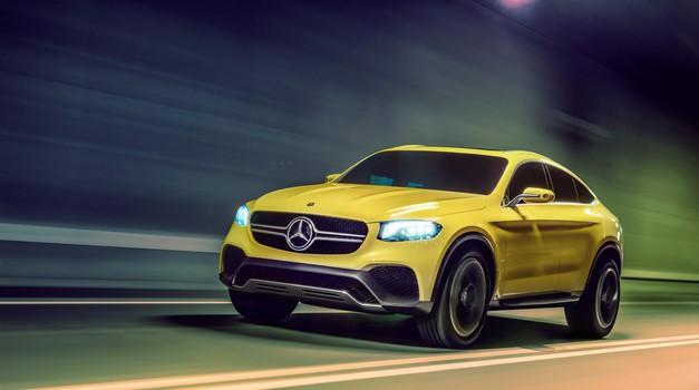 Mercedes-Benz Concept GLC Coupé: napoved novega športnega terenca iz Stuttgarta (foto: Mercedes-Benz)