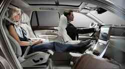 Razkošna loža v osebnem avtomobilu