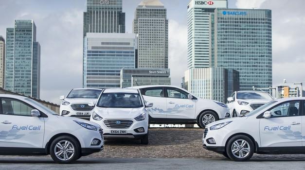 Hyundai z gorivnimi celicami v redni prodaji (foto: Hyundai)