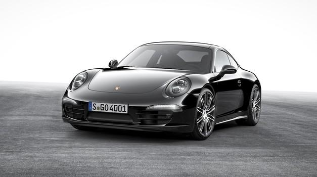 Porsche Black Edition (foto: Porsche)