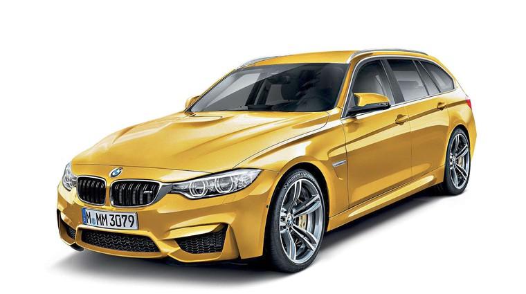 Razkrivamo: Jeseni novi BMW M3 Touring (foto: Bojan Perko)