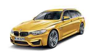 Razkrivamo: Jeseni novi BMW M3 Touring