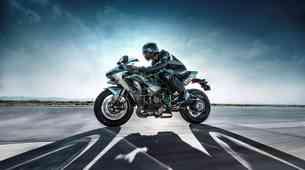 Kawasaki H2R...'gas do konca' 331,042061 km/h