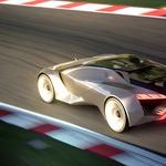 Futuristični Peugeot z virtualnega dirkališča (foto: GT6)