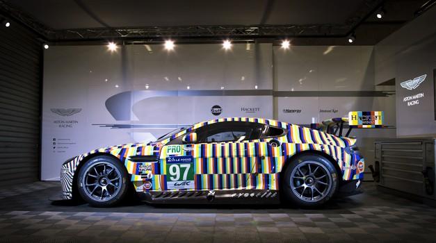 Umetniški dirkalnik za 24 ur le Mansa (foto: Newspress)
