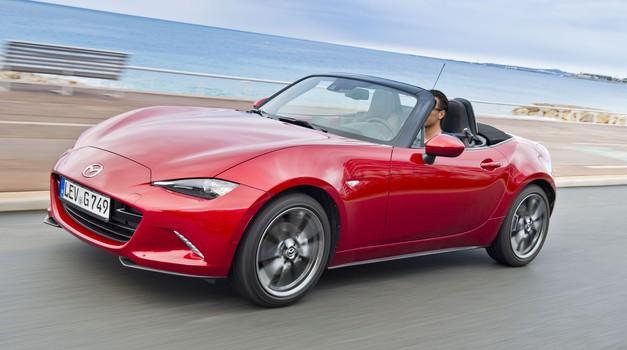 Mazda MX-5 prihaja v Evropo (foto: Mazda)