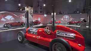 Prenovljen časovni stroj Alfa Romea