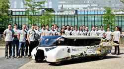Študentski družinski avtomobil na sončni pogon
