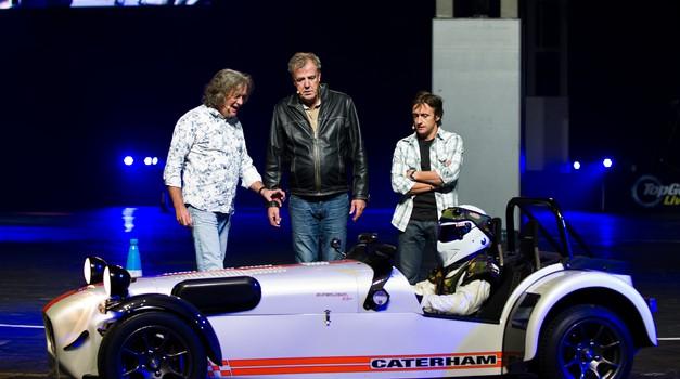 Voditelji Top Geara pri Amazonu (foto: Newspress)