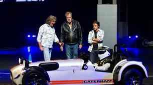 Voditelji Top Geara pri Amazonu