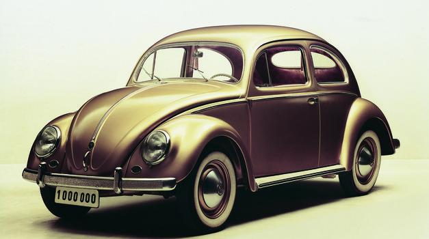 Šestdeset let od Volkswagnovega prvega milijona (foto: Volkswagen)