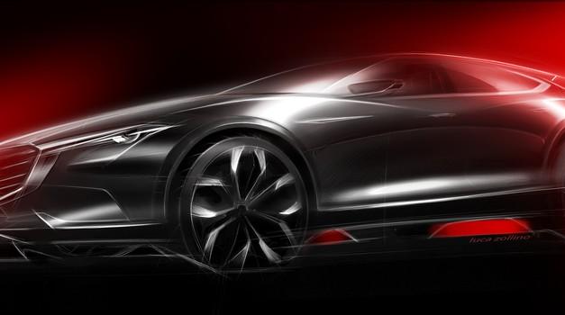 Mazda Koeru - drzna študija za Frankfurt (foto: Mazda)