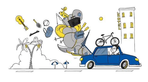 Vožnja na poletne počitnice je zahtevna, zato previdnost ni odveč (foto: Goodyear)