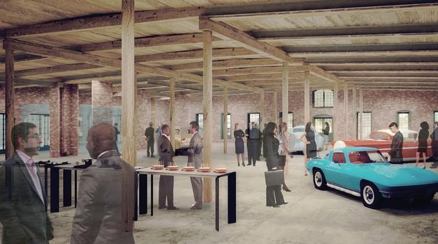 General Motors  bo svoj arhiv naselil v zgodovinski tovarni (foto: GM)