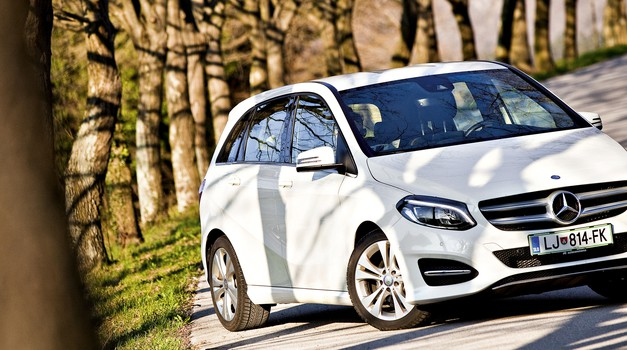 Kratki test: Mercedes-Benz B 180 CDI Urban (foto: Saša Kapetanovič)