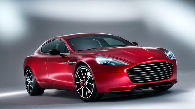 Tesla S bo dobil prestižnega tekmeca (foto: Aston Martin)