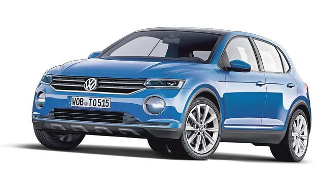 Razkrivamo: Volkswagen Polo SUV: Za novi Polo SUV še iščejo ime (foto: Bojan Perko)