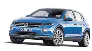 Razkrivamo: Volkswagen Polo SUV: Za novi Polo SUV še iščejo ime