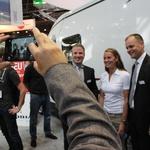 Adria Mobil v Düsseldorfu dvakrat presenetila (foto: Peter Kavčič, tovarna)