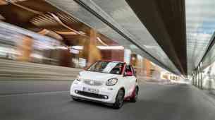 Smart Fortwo Cabrio: v dvanajstih sekundah in do 155 kilometrov na uro
