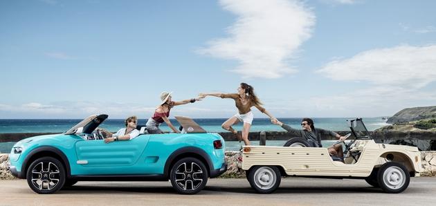Svobodnjaška študija v spomin na Citroën Mehari