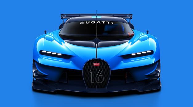 Bugatti Vision Gran Turismo - virtualni dirkalnik za avtomobilski salon v Frankfurtu (foto: Bugatti)