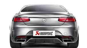 Ultralahki izpušni sistem za Mercedes-AMG S 63 AMG Coupé