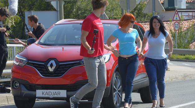 Adrenalinska presenečenja z avtomobilom Renault Kadjar (foto: Renault Slovenija)