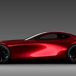 Mazdina študija z rotacijskim motorjem (foto: Mazda)