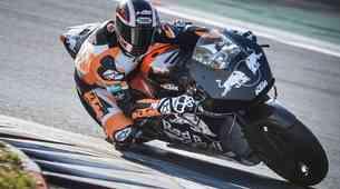 Uspešna prva vožnja na stezi za KTM RC16