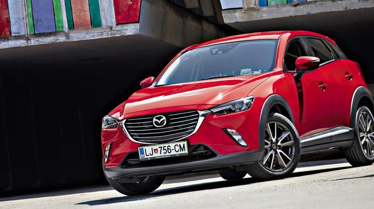 Test: Mazda CX-3 G120 Revolution (foto: Saša Kapetanovič)