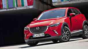 Test: Mazda CX-3 G120 Revolution