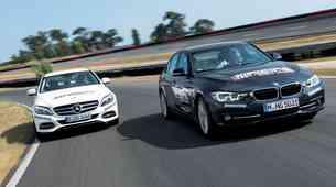 Primerjalni test: BMW 340i Sport Line in Mercedes-Benz C400 4MATIC Exclusive
