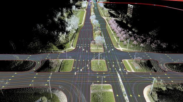 Audi, BMW in Daimler so si zagotovili digitalne zemljevide (foto: HERE)