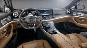 Predstavljena notranjost Mercedesa-Benza razreda E