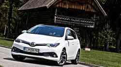 Kratek test Toyota Auris