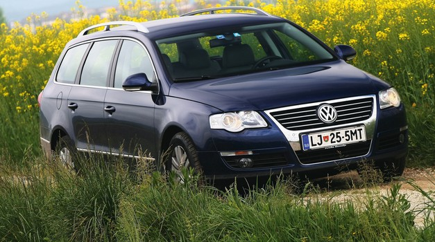 RABLJEN AVTO: VOLKSWAGEN PASSAT (2005‒2010): Najbolj slovenski rabljen avto (foto: tovarna/arhiv AM)