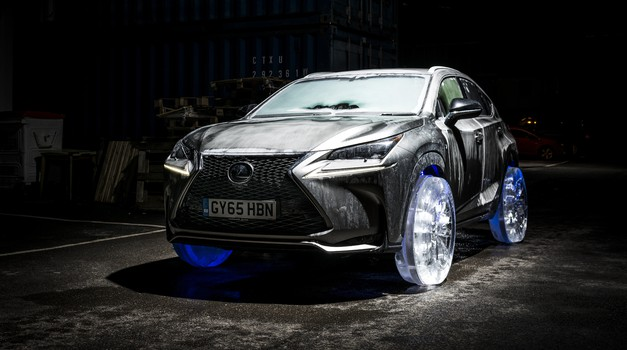 "Lexus NX z najbolj ""cool"" kolesi (foto: Lexus)"