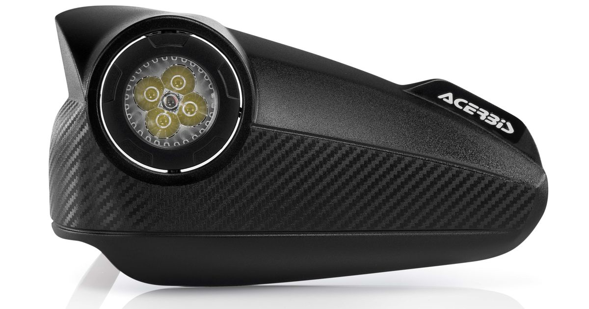 Priporočamo: Ščitniki rok z LED lučmi Acerbis Visionguard - Moto ...