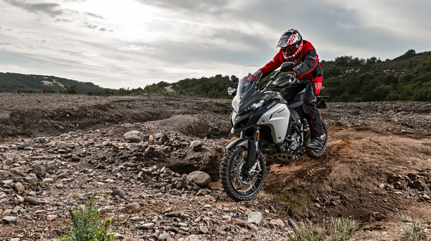 Video: Enduro Ducati Multistrada