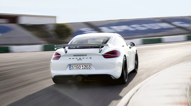 Porsche Cayman GT4: As za vse razmere (foto: Porsche)