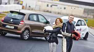 Dirkaški test: Renault Twingo Cup: Osnove