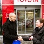 Toyote za slovenske hokejiste (foto: Toyota)