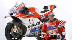 Novi Ducati za MotoGp bo s pobarvanimi'krilci'