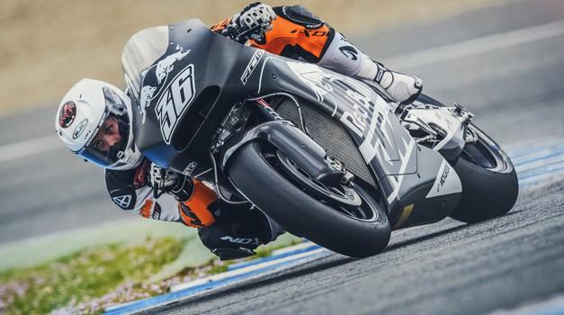 Prvi test za KTM-ov MotoGP stroj RC16! (foto: KTM)
