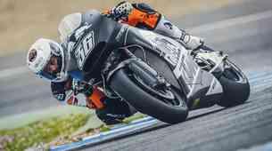 Prvi test za KTM-ov MotoGP stroj RC16!