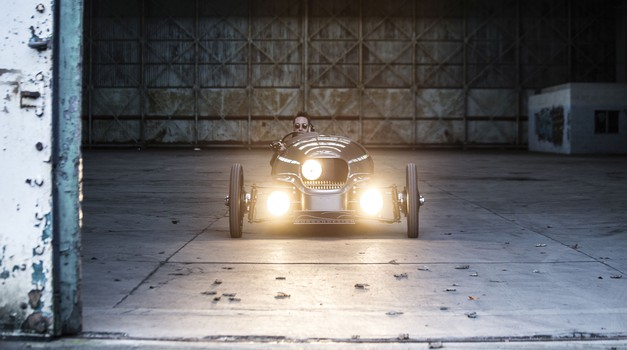 Predserijski Morgan EV3 v videu (foto: Morgan)