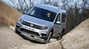 Predstavljamo: Volkswagen Caddy Alltrack: Za blato in nedeljski izlet