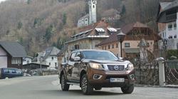 Novo v Sloveniji: Nissan Navara