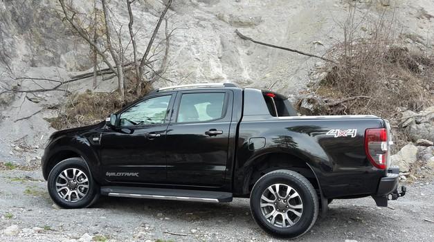 Novo v Sloveniji : Ford Ranger (foto: Sebastjan Plevnjak)